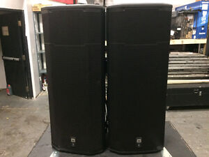 JBL PRX625 with covers SOLD AS PAIR