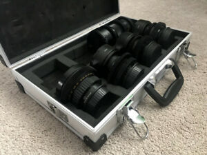 Iron Glass Vintage Russian Canon EF Mount set