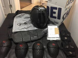NEW - $2,100 leather motorcycle gear - Moving TUESDAY! - Offer!