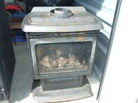 GAS/PROPANE FIREPLACE;  Sale/trade