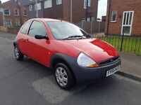 2005/55 FORD KA 1.3 WITH LOW MILES VERY CLEAN AND TIDY CAR POSS PX