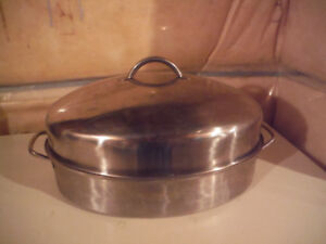 STAINLESS STEAL ROASTING POT