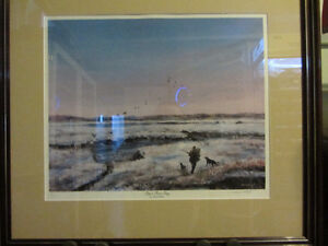 """Ducks Unlimited Print – """"Pup's First Day"""""""