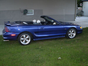 1995 MUSTANG GT CONVERTABLE
