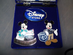 Disney store 25th Anniversary 3 pin set Limited Edition of 500/ Edmonton Edmonton Area image 1