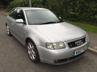 Audi S3 Quattro Turbo - 210BHP - excellent condition - FSH