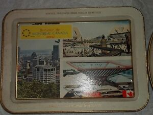 Expo 67 serving trays