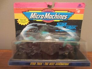 Star Trek Micro Machines – RARE Printing Error  (1992)