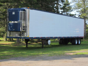 Reefer Trailers Container Trailers , Tandem and tridem