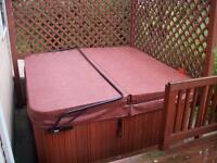 Custom Made Hot Tub Spa Cover Free Delivery - 7 Year Warranty