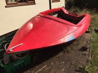 13ft speed boat hull project