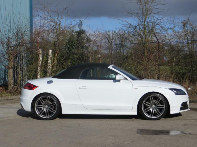 2013 Audi Tt Ttr Blackedition 2 0 Tdi Quattro Manual Convertible