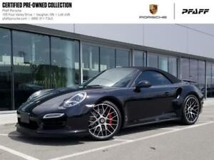 2014 Porsche 911 Turbo Cabriolet PDK - Clean CARFAX, LOW KMS, CP