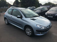 Peugeot 206 1.4 8v 2005MY Zest *1 FORMER KEEPER WITH FULL SERVICE HISTORY