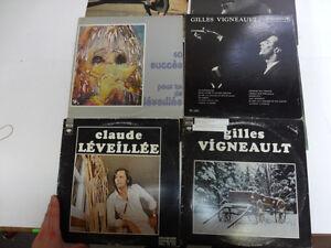Lot # : 633 - Lot de vinyles