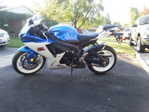 2012 Suzuki GSXR 600 For Sale.