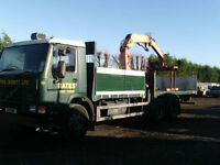 Volvo fl7 ATLAS CRANE LORRY IDEAL VINTAGE PROJECT OR EXPORT