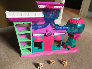 Littlest pet shop and three pets