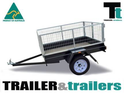 7X4 HEAVY DUTY|2FT GAL CAGE|750KG GVM| Traralgon East Latrobe Valley Preview