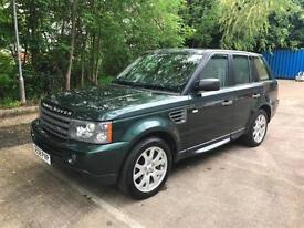 Land Rover Range Rover Sport 2.7 TD V6 HSE 5dr Sat Nav / Beige Leather