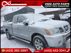 2005 NISSAN TITAN FOR PARTS PARTING OUT CARS CAR PARTS