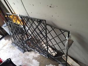 Steel security bars/barriers for windows Indoor mounting