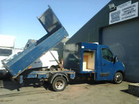 Vauxhall Movano Toolbox Tipper