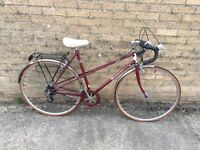 Raleigh Romana Ladies Racing Bike, Serviced. Can deliver