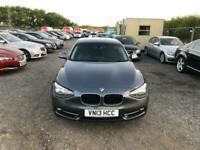 2013 BMW 1 Series 2.0 116D SPORT 3d 114 BHP Hatchback Diesel Manual