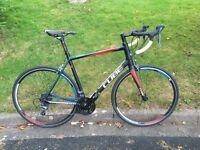 Cube Peloton Road Bike. 60cm frame Carbon forks
