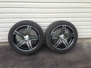 All season rims and tires West Island Greater Montréal image 1