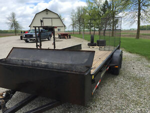 Weberlane 16 ft Flat Deck Trailer