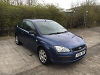 2005 Ford Focus MK2 1.4 Lx, 3 Door, Blue, 90k Miles, FSH, 12 MOT, X2 Keys