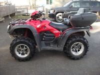 2007 honda 500 rubicon loaded low kms