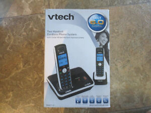 vtech - dual cordless phone system