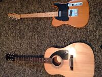 Guitars and extras