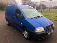 2005 Citroen Dispatch COMPLETE WITH M.O.T AND WARRANTY