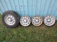 "Dodge Ram 1500 16"" Steel Wheels, Perfect for Snow Tires."