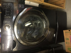 2014 Samsung stainless steel front load washer and dryer