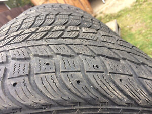 FOR SALE: Used 4 Winter Tires Studded St. John's Newfoundland image 3