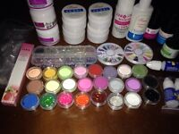 Everything you need for acrylic nails