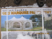16x22 Marquee Party tent great for weddings and outdoor function
