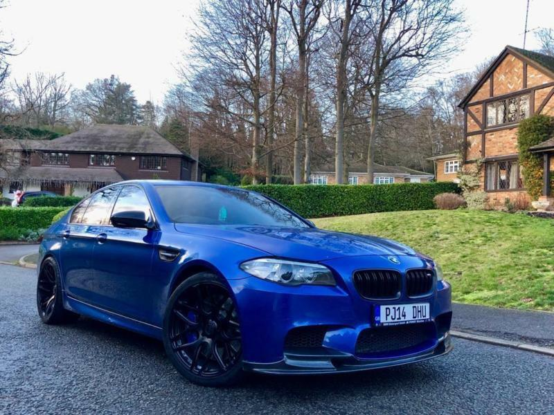 2014 14 BMW F10 M5 4 4 V8 LCI BI-TURBO 750+ BHP REMAP + MILTEK EXHAUST  MONSTER | in High Wycombe, Buckinghamshire | Gumtree