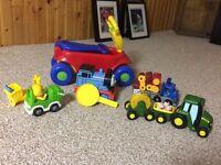 Trucks & Train