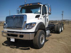 2017 International 7400 6x4, New Cab & Chassis