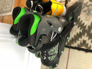 Boys Roller Blades size 11-1  adjustable