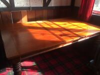Beautiful cherry wood dining table