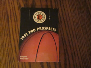 1991 STAR PICS PRO PROSPECTS BASKETBALL FACTORY SEALED SET