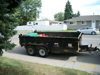 Truck & Utility Dump Trailer Service Available @ 403-608-0534