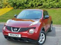 2011 Nissan Juke 1.5 dCi Visia 5dr *** LONG MOT - FREE DELIVERY *** HATCHBACK Di